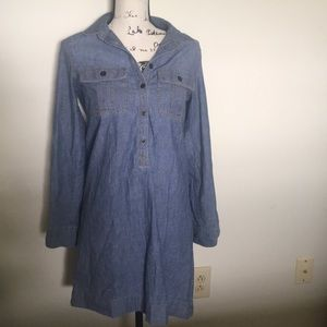 J. Crew Factory Denim Dress Size XS